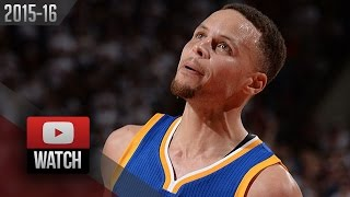 Stephen Curry Full Game 4 Highlights vs Trail Blazers (2016.05.09) - 40 Pts, 17 in OT, HE'S BACK!