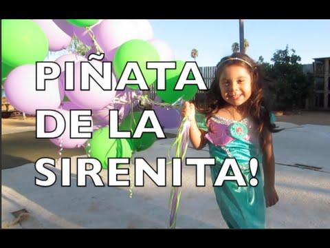 Piñata de la Sirenita Oct. 10 2015