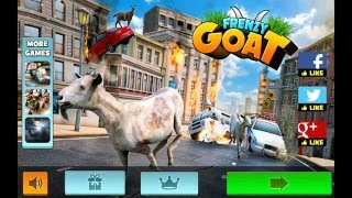 Frenzy Goat: A Simulator Game - HD Android Gameplay - Other games - Full HD Video (1080p)
