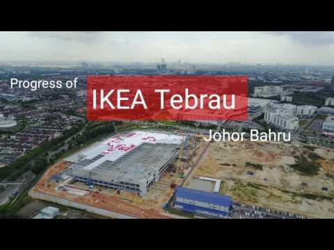 Progress of IKEA Tebrau, Johor Bahru, 27 March 2017
