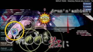 osu! b1486 Amame - To the Graceful Scarlet (Alace's Hard) Metroid S