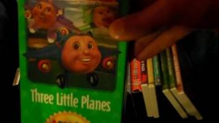Jay Jay the Jet Plane VHS/DVD Collection.