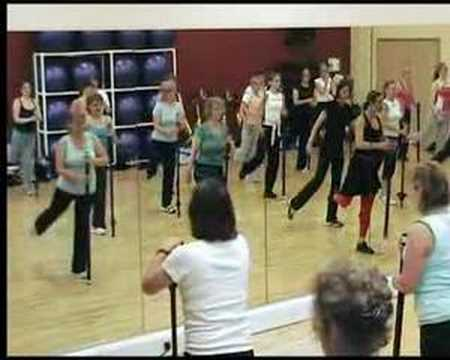 Vertical Body Bar Conditioning Fitness Pole Dancing
