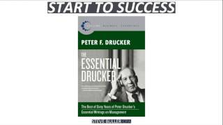 The Essential Drucker: Essential Writings on Management by Peter Drucker - Book Learning #2