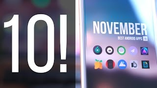 Best Android Apps - November 2016!