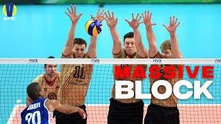 Creative Massive Block ● Epic Moment ● Super Volleyball Block