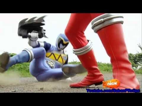 Power Rangers Super Dino Charge Ep 5 - Roar of the Red Ranger - Acting like an T Rex