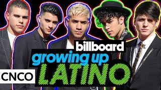 CNCO Reveals Favorite Telenovelas & Childhood Memories | Growing Up Latino