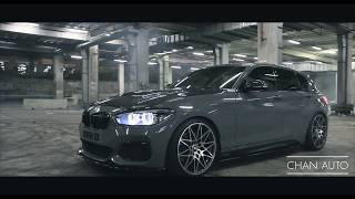 1st BMW M140i with a full valvetronic exhaust system // burnouts//pops, bangs and doughnuts