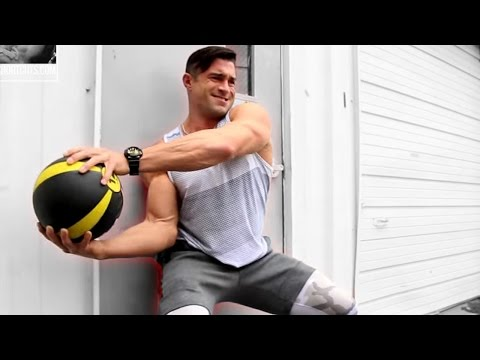 Burn More Belly Fat With This Medicine Ball Ab Workout