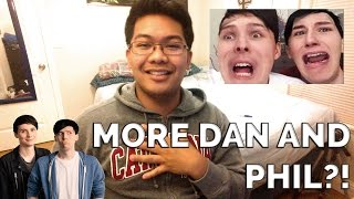 REACTING TO MORE DAN AND PHIL?! | THE FACE SWAP CHALLENGE