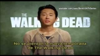 The Walking Dead - Saludos del Elenco para Fox Latinoamerica [Subtitulos Español]