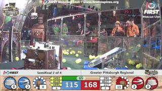 Semifinal 2 - 2017 Greater Pittsburgh Regional