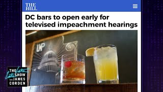 Early Morning Impeachment Viewing Parties Are DC's Hottest New Trend