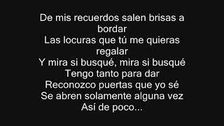 Desde Cuando - Alejandro Sanz - CON LETRA
