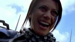 Power Rangers S.P.D. - Omega Ranger First Scene and Battle (Messenger Episode)
