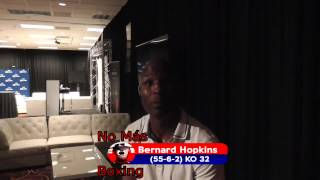 Bernard Hopkins boxer talks canelo lara future and goldenboy