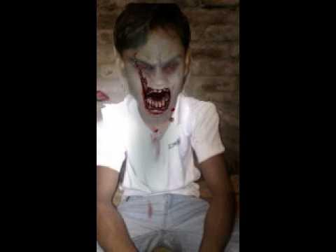My zombie bro................ kunal..................