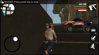 GTA San Andreas gameplay in my coolpad note 3 lite
