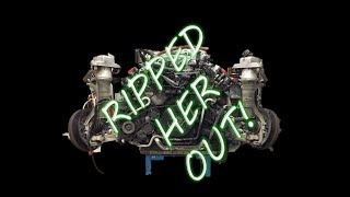 Audi V10 S8 Completed Engine Removal Part 4 Mini Series
