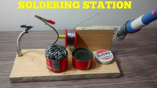 HOW TO MAKE A SOLDERING STATION ?