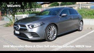 2018 Mercedes-Benz A-Class - Full exterior, interior, MBUX tour