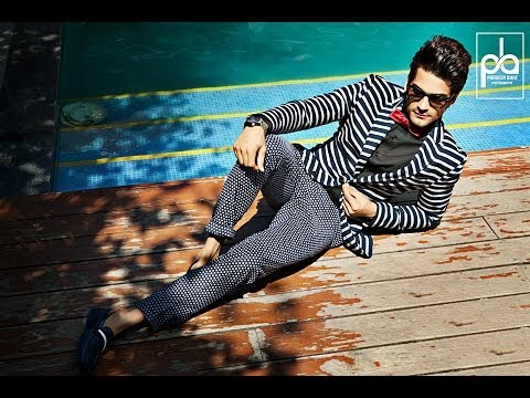 Fashion photographer Praveen Bhat shoots for Model Naveen Chandwani