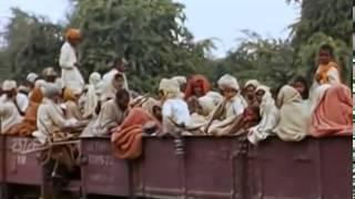 1947 भारत की आजादी और बटवारे का रंगीन वीडियो