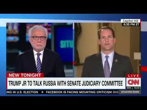 Breaking News - John King Interviews Jim Himes on Trump Jr.