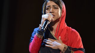 Watch rapper Sonita Alizadeh perform live in New York City