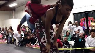Livest Girl Street Dance Battle of 2k18 | Bosslady vs Starr | Tommy the Clown
