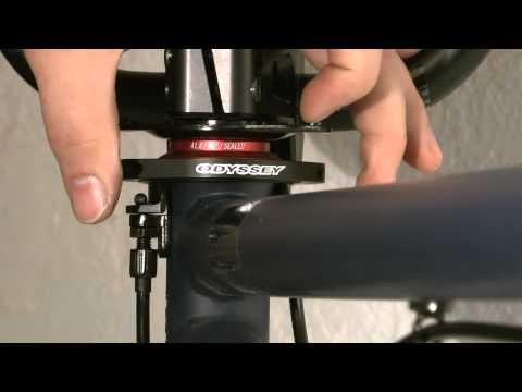SI BMX Werkstatt Rotor montieren und einstellen