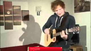 Ed Sheeran  Uni Live On Ustream