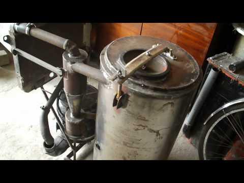 Газогенератор своими руками самодельный