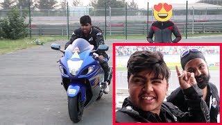 I m Riding Haya busa 😍😍😍😍 || Meetup with JS FILMS  Awesome man