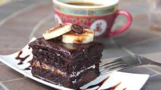Chocolate Banana Cake کیک شکلات و موز