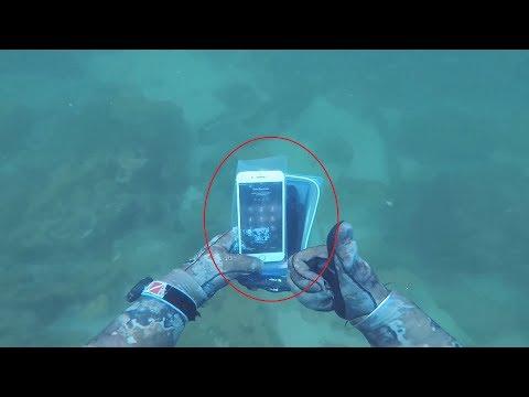 НАШЕЛ 3 АЙФОНА GoPro И СУМКУ С ДЕНЬГАМИ ПОД ВОДОЙ Находки под водой в реке