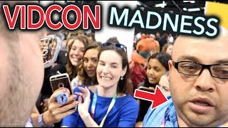 I DIDN'T GET KICKED OUT OF VIDCON *not clickbait* | Simply Nailogical goes to VidCon 2017