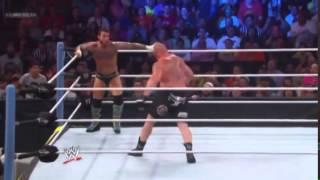 WWE Summerslam 2013: Brock Lesnar vs CM Punk [HD]