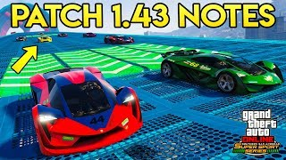 GTA Online: NEW UPDATE 1.43 PATCH NOTES - All Glitches Patched, New Features & More