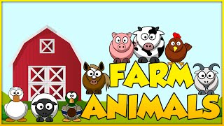 Farm Animals - Old MacDonald Had A Farm - Kid Songs Sing Along,  Animal Discovery, Nursery Rhymes!