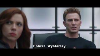 Kapitan Ameryka: wojna bohaterów - polski zwiastun #2 [napisy] [HD]
