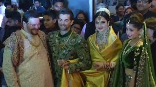 Neil Nitin Mukesh And Rukmini Sahay Wedding Reception Party | BEST MOMENTS