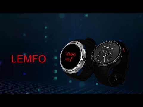 Xxx Mp4 LEMFO LES 1 3G Smartwatch Phone ROM 16G RAM 1G 3gp Sex