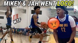 Eighth Graders Mikey Williams And Jahzare Jackson ARE BACK! DUNKS, BLOCKS... It