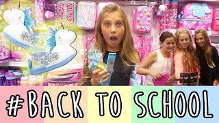 BACK TO SCHOOL (come shopping with me!)