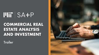 Course Trailer   MIT SA+P Commercial Real Estate Analysis and Investment
