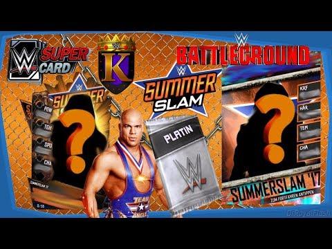 SS`17 Karten abräumen! TBG gegen ein BESTENLISTEN Team!   WWE Supercard