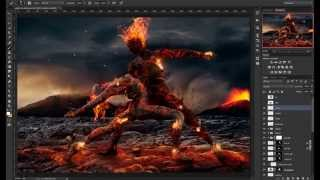 Ashes to ashes - Speed art (#Photoshop & Poser Pro)