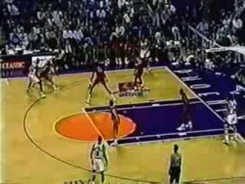 Manute Bol (18pts/3blks) Hits Six Threes vs. Suns (1993)